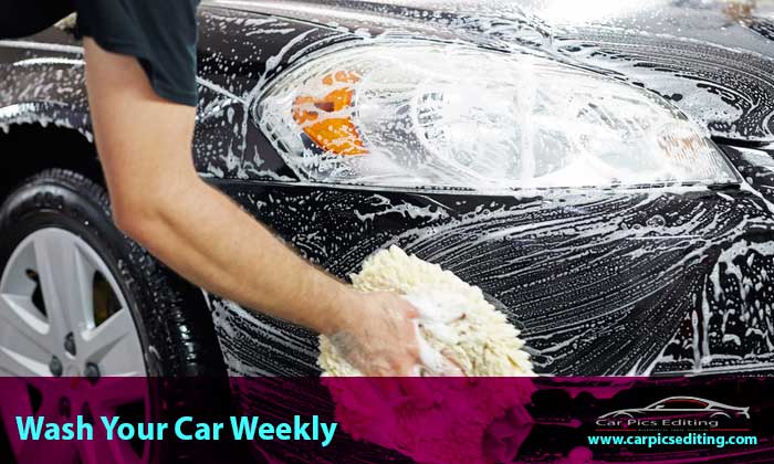Wash-your-car-weekly, car care