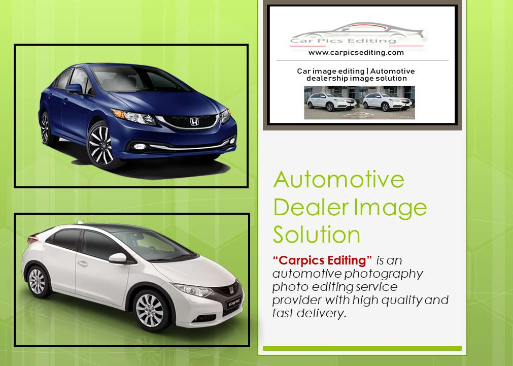 Automotive-dealer-image-solution, car photo editing