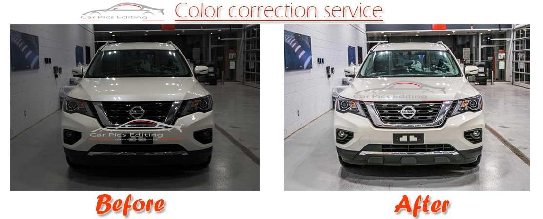 Automotive color enhancement color correction service