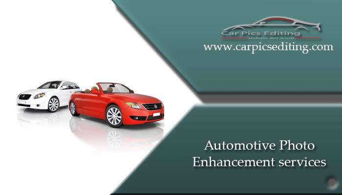 Automotive photo enhancement service