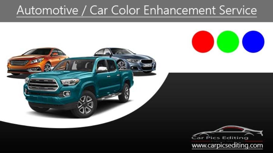 Car color enhancement service