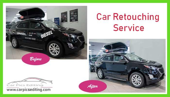 Car image retouching service