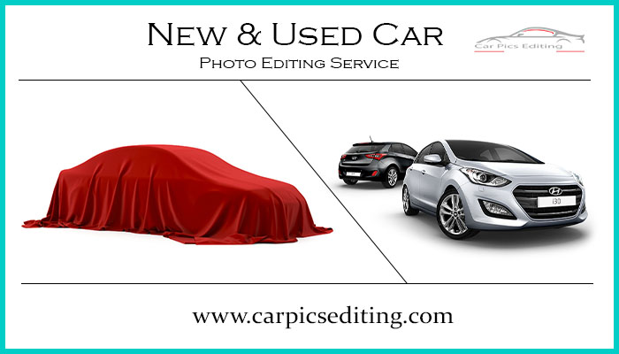 New and Used car photo editing