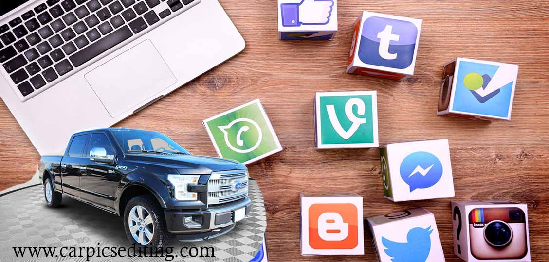 Guidelines for Dealerships to use social media, Car image editing service