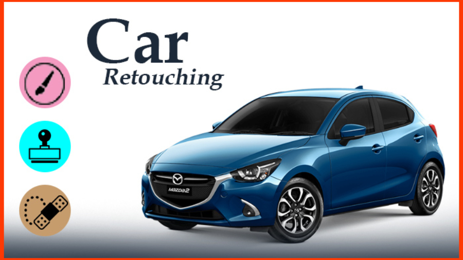 Professional car retouching service