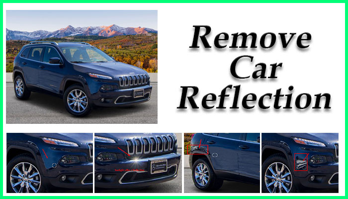 Remove car reflection Feature image