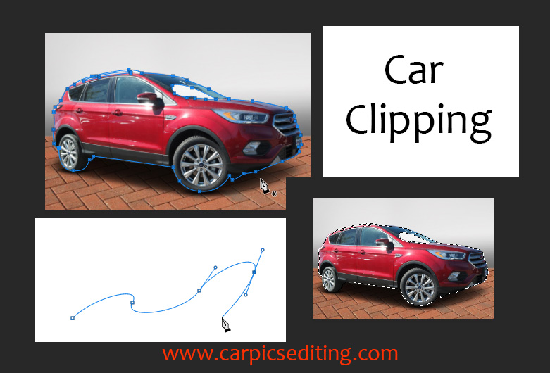 Car clipping path