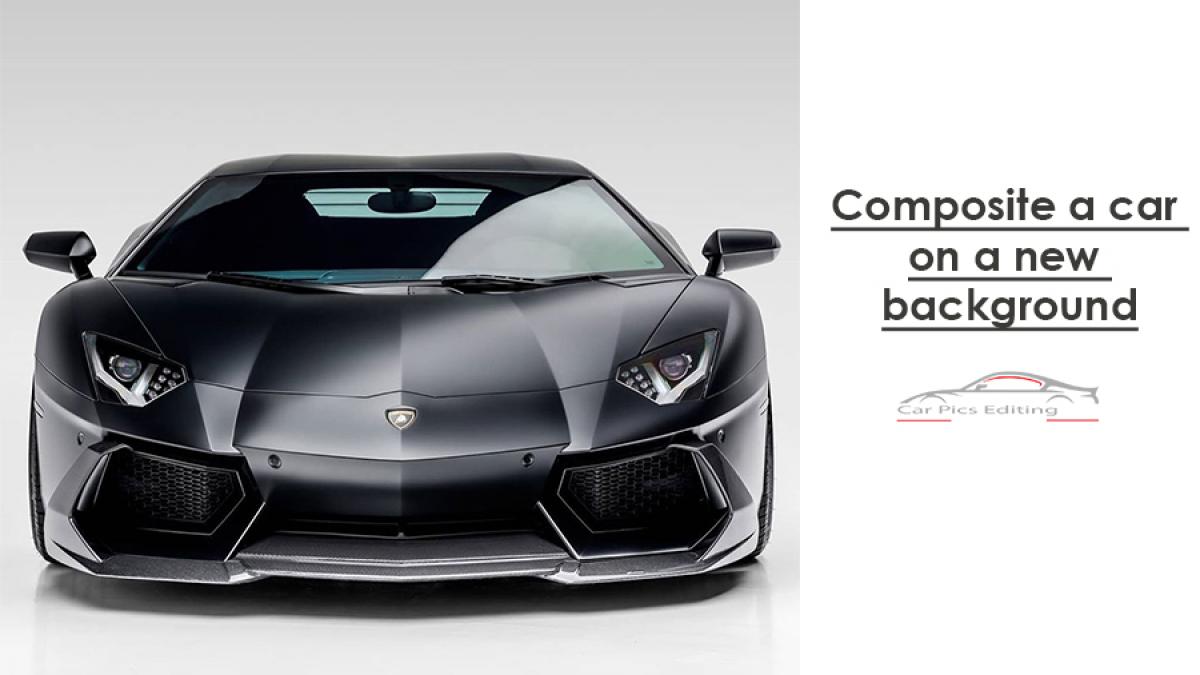 Composite car background