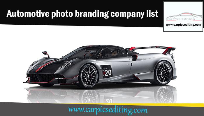 Automotive photo branding company list