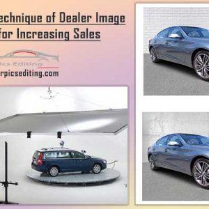 Modern technique of Dealer Image Editing