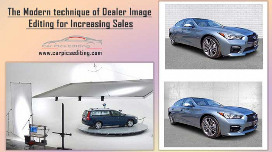 Modern technique of Dealer Image Editing