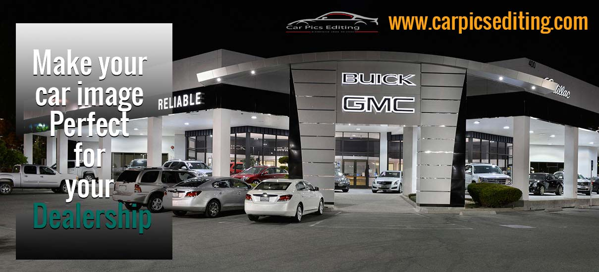 Benefits of Car Background Replacement for Dealership