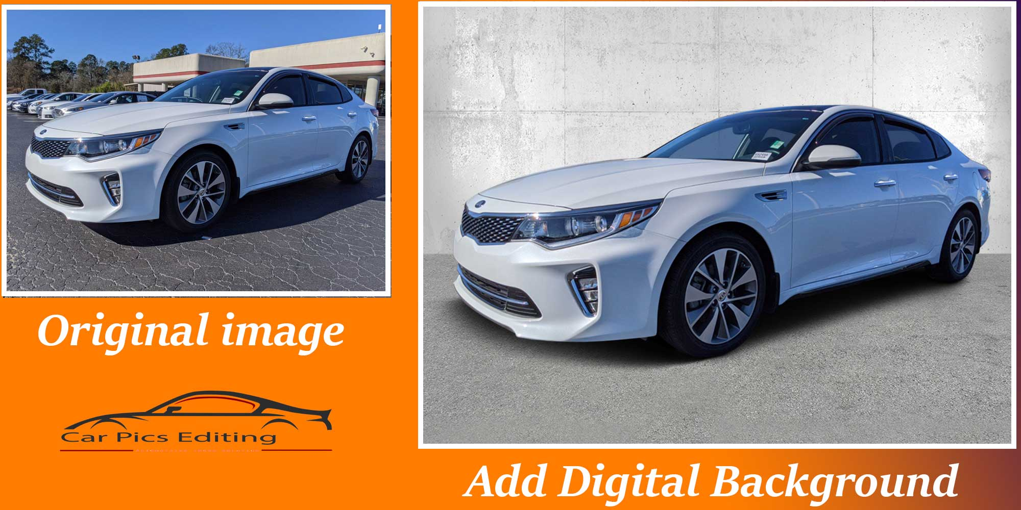 Car Background removal-2service