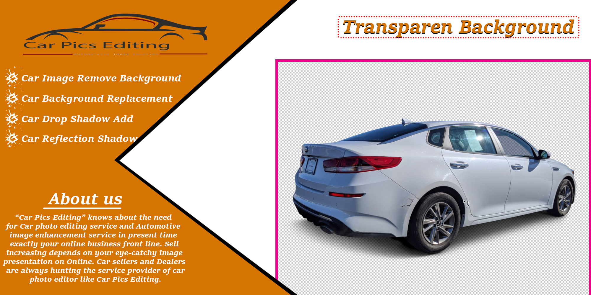 Best Tips for Making Car Transparent Background 4