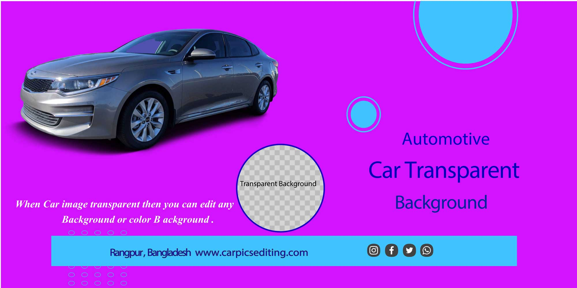 Super Easy Ways to Handle Your Car Transparent Background 3