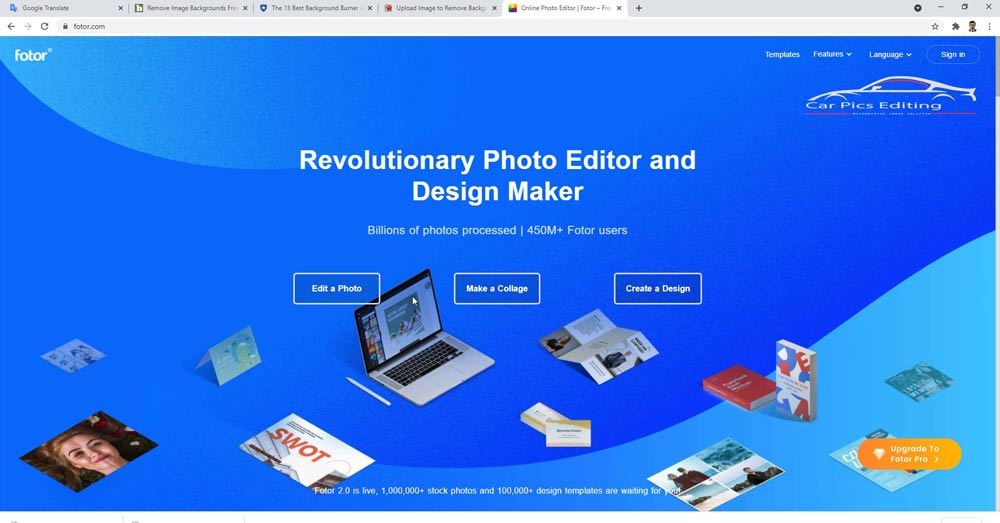 Difference between Free background remove software and Photoshop