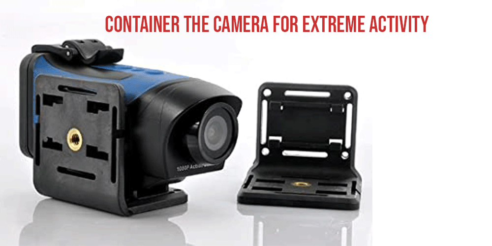 Container the camera for extreme activity- Professional Car Photography