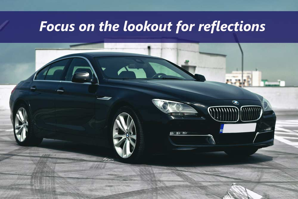 Focus on the lookout for reflections