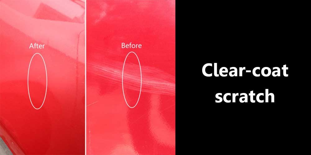 Clear-coat-scratch