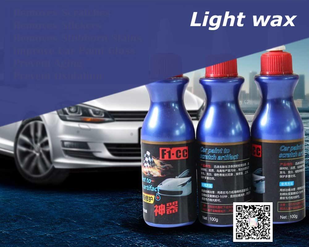 Light-wax- Fixing deep scratches on car