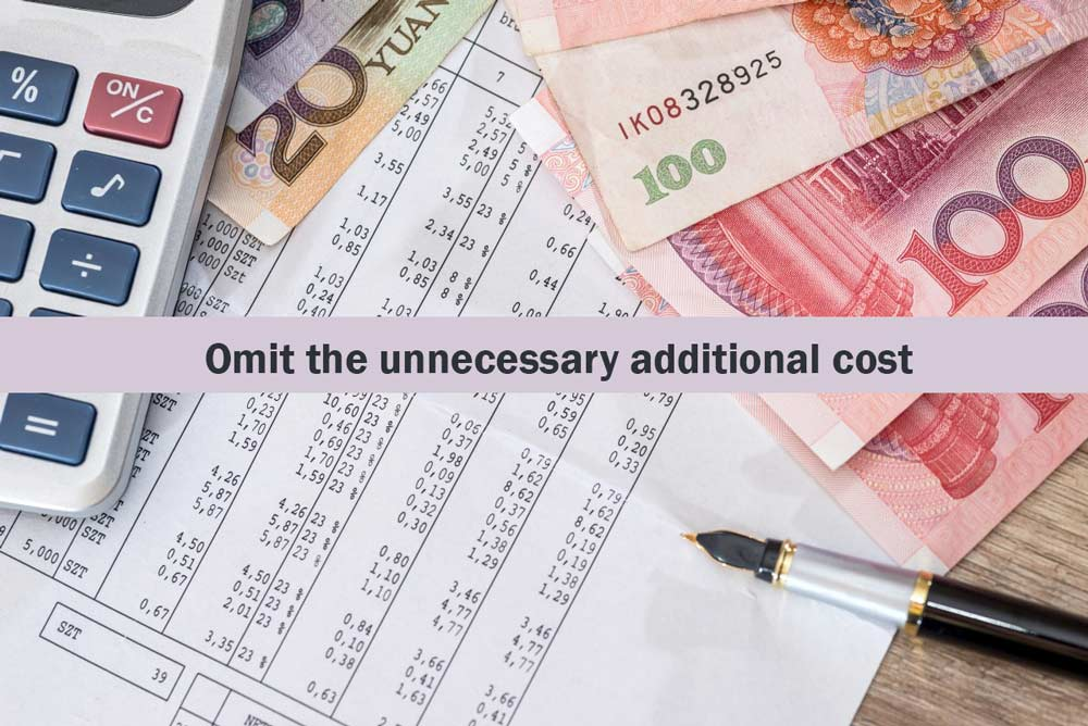 Omit-the-unnecessary-additional-cost