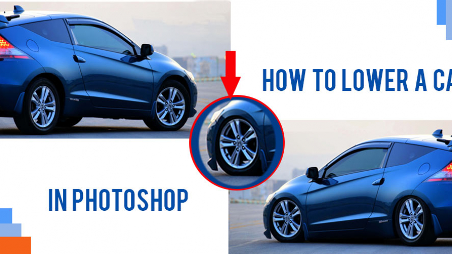 How to lower a car in Photoshop Feature-image-